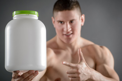 Super Nahrung für Kraftsportler: Whey Protein