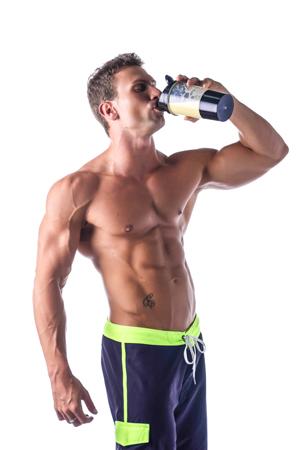 Trinken von Protein