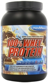 Ironmaxx 100% Whey Protein, Cookies & Cream, 900g - 1