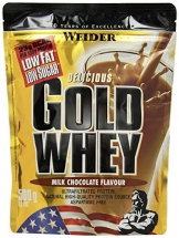 Weider Gold Whey, Milk Chocolate/Schokolade, 1er Pack (1x 500g) - 1