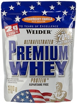 Weider Premium Whey, Strawberry - Vanille, 500 g - 1